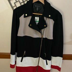 """INC """"Going Global"""" sweater coat NWT"""